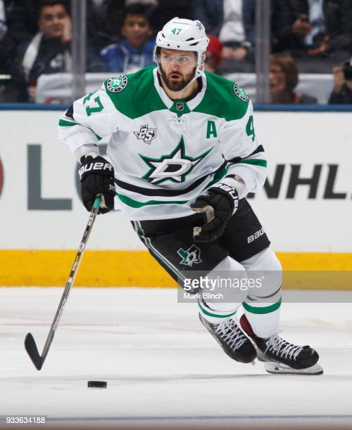 Alexander Radulov of the Dallas Stars skates against the Toronto Maple Leafs during the second period at the Air Canada Centre on March 14 2018 in...