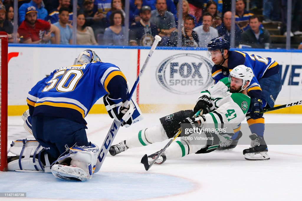 Dallas Stars v St Louis Blues - Game Seven : Foto jornalística