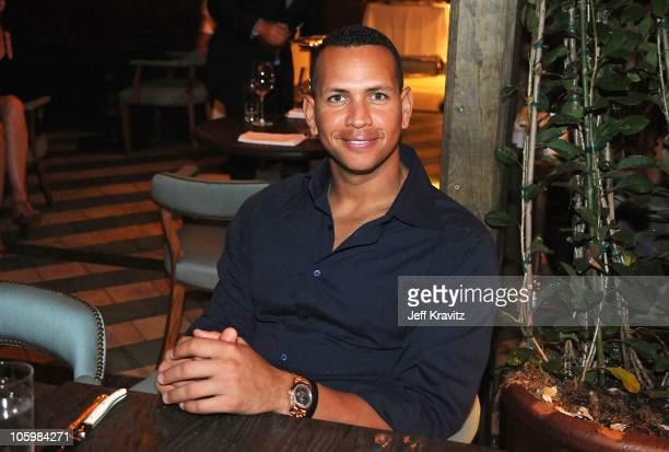 Alexander Rodriguez attends SoHo Beach House 'Sleepover Weekend' hosted by Grey Goose vodka on October 23 2010 in Miami Florida