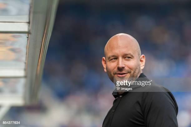 Alexander Rosen of Hoffenheim looks on during the Bundesliga match between TSG 1899 Hoffenheim and FC Schalke 04 at Wirsol RheinNeckarArena on...