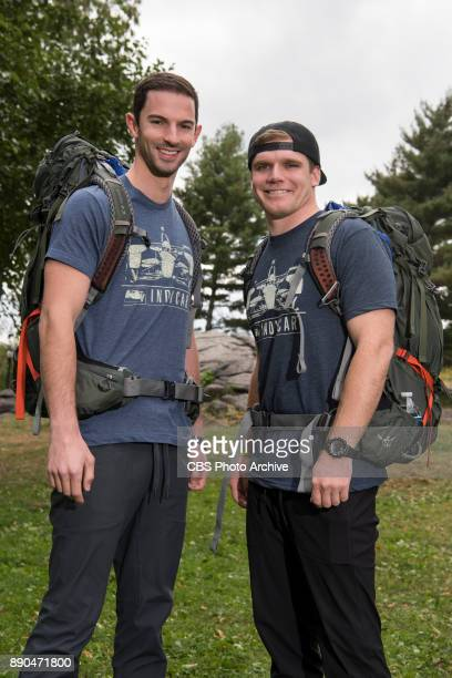 Alexander Rossi and Conor Daly Indy Race car drivers from Indianapolis IN on the 30th season of THE AMAZING RACE will premiere during the 20172018...