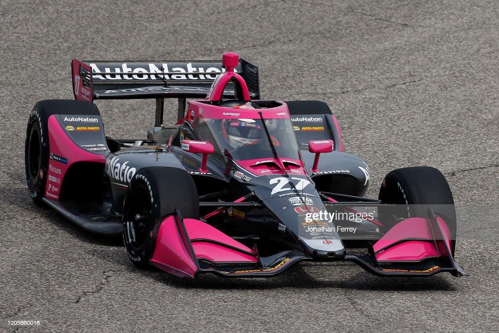 2020 NTT IndyCar Series Testing : News Photo