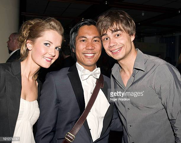 Alexander Rybak attends afterparty at the plaza hotel to celebrate the grand final of the eurovision song contest on May 29 2010 in Oslo Norway