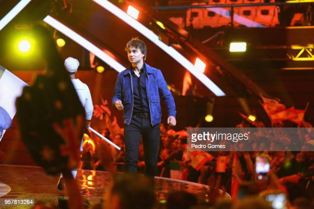 Alexander Rybak from Norway at Altice Arena on May 12 2018 in Lisbon Portugal