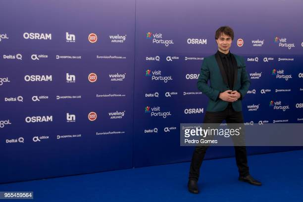 Alexander Rybak of Norway attends the red carpet before the Eurovision private party on May 6 2018 in Lisbon Portugal