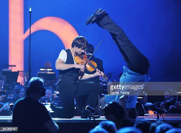 Alexander Rybak performs during the Nobel Peace Prize Concert at Oslo Spektrum on December 11 2009 in Oslo Norway