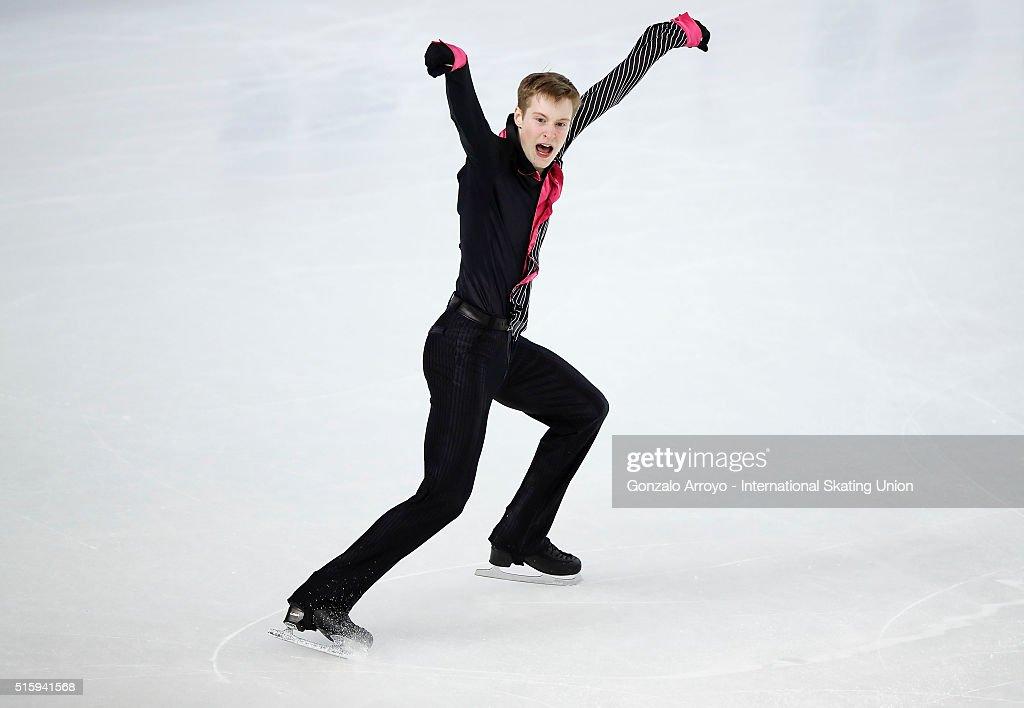 World Junior Figure Skating Championships 2016 Debrecen - Day 1 : News Photo