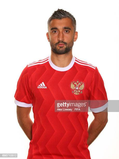 Alexander Samedov of Russia during a portrait session at the Lotte Hotel on June 13 2017 in Moscow Russia