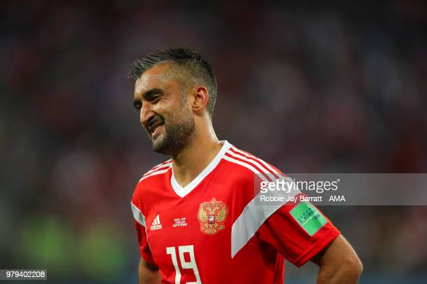 Alexander Samedov of Russia during the 2018 FIFA World Cup Russia group A match between Russia and Egypt at Saint Petersburg Stadium on June 19 2018...