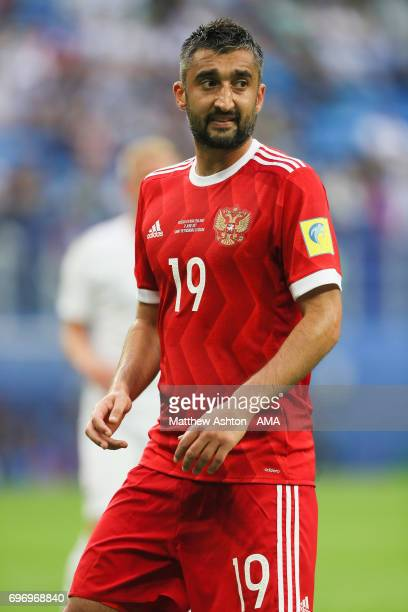 Alexander Samedov of Russia during the Group A FIFA Confederations Cup Russia 2017 match between Russia and New Zealand at Saint Petersburg Stadium...