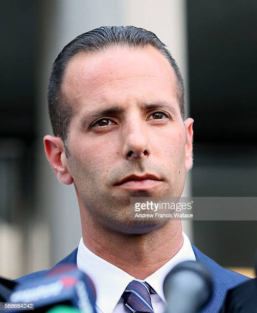 TORONTO ON AUGUST 11 Alexander Sandro Lisi outside 361 University Avenue court August 11 2016 Lisi was cleared from a charge of extortion from his...