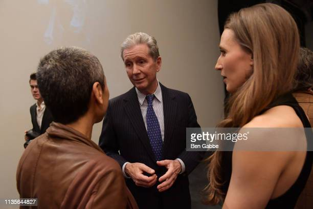 Alexander Sanger attends American Ballet Theatre Women's Movement Hosted by Donna Karan at Urban Zen during Women's History Month on March 13 2019 in...