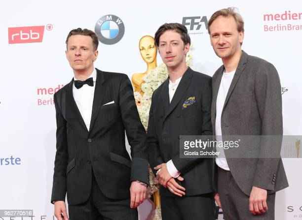 Alexander Scheer during the Lola German Film Award red carpet at Messe Berlin on April 27 2018 in Berlin Germany