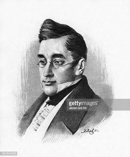 Alexander Sergeyevich Griboyedov *15.01.1795-11.02.1829+, writer, diplomat, Russia, portrait, date unknown, drawing by A. Savyalov