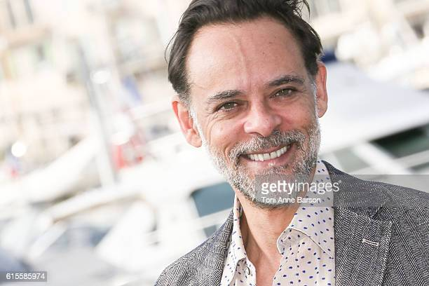 Alexander Siddig attends Photocall for 'The Kennedys After Camelot' as part of MIPCOM at Palais des Festivals on October 18 2016 in Cannes France