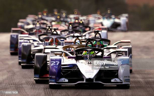 Alexander Sims of Great Britain driving the BMW iFE20 and Team BMW i ANDRETTI MOTORSPORT on track during Round 2 of the ABB FIA Formula E...