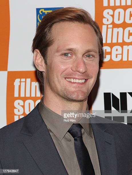 Alexander Skarsgaard attends the premiere of 'Melancholia' during the 49th annual New York Film Festival at Alice Tully Hall Lincoln Center on...