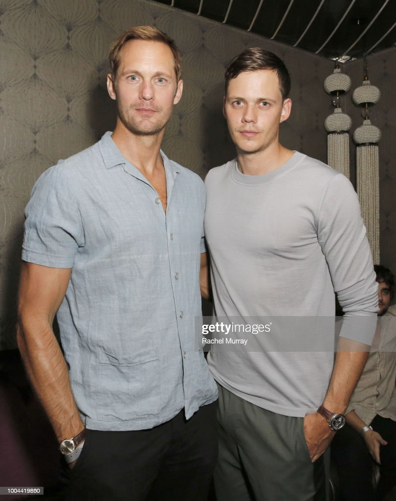 Flaunt And Ermenegildo Zegna Celebrate The Prelude Issue With Bill Skarsgard : News Photo