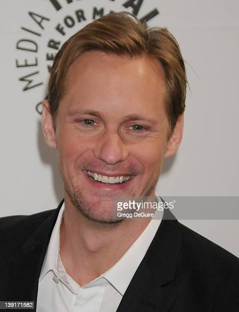 Alexander Skarsgard arrives at PaleyFest 2011 Presents 'True Blood' at the Saban Theatre on March 5 2011 in Beverly Hills California