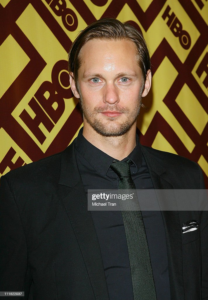 Alexander Skarsgard arrives to the official HBO Golden Globe Awards afterparty held at Circa 55 Restaurant inside the Beverly Hilton held on January 11, 2009 in Beverly Hills, California.