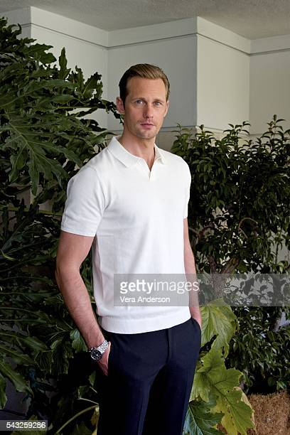"Alexander Skarsgard at ""The Legend of Tarzan"" Press Conference at the Beverly Hilton Hotel on June 26, 2016 in Beverly Hills, California."