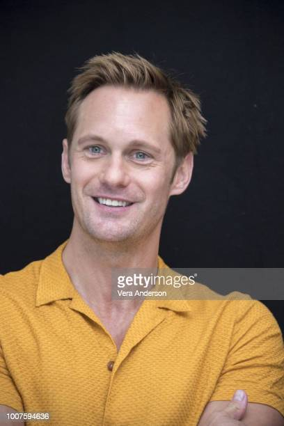Alexander Skarsgard at The Little Drummer Girl Press Conference at the London Hotel on July 28 2018 in West Hollywood California