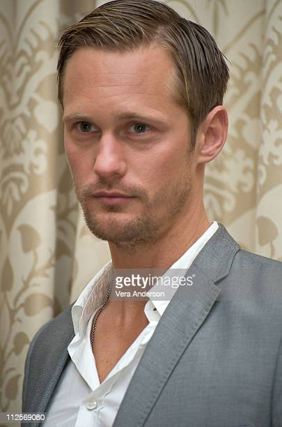 Alexander Skarsgard at the True Blood press conference at the Four Seasons Hotel on July 22 2009 in Beverly Hills California