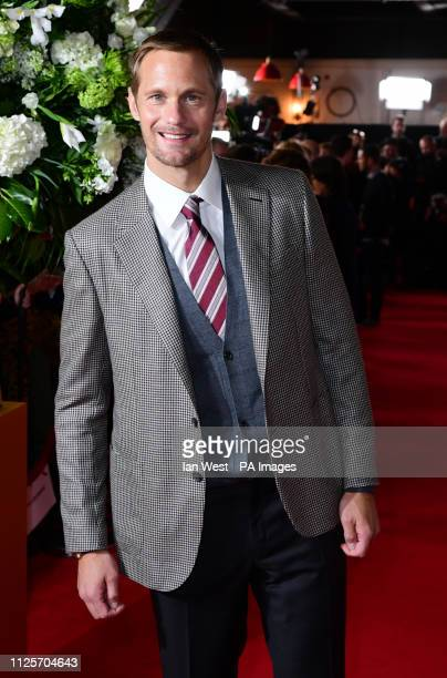 Alexander Skarsgard attending the world premiere of The Aftermath held at the Picturehouse Central Cinema London