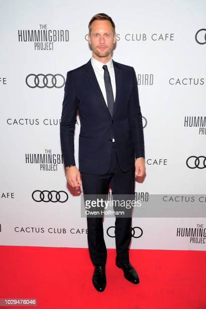 Alexander Skarsgard attends Audi Canada And Cactus Club Host The PostScreening Event For The Hummingbird Project During The Toronto International...