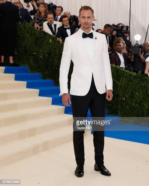 Alexander Skarsgard attends 'Rei Kawakubo/Commes Des Garcons Art of the InBetween' the 2017 Costume Institute Benefit at Metropolitan Museum of Art...