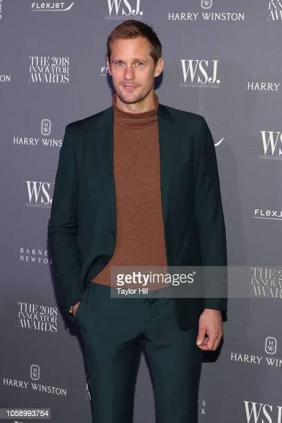 Alexander Skarsgard attends the 2018 WSJ Magazine Innovator Awards at Museum of Modern Art on November 7 2018 in New York City