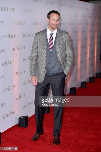 Alexander Skarsgard attends 'The Aftermath' World Premiere held at The Picturehouse Central on February 18 2019 in London England