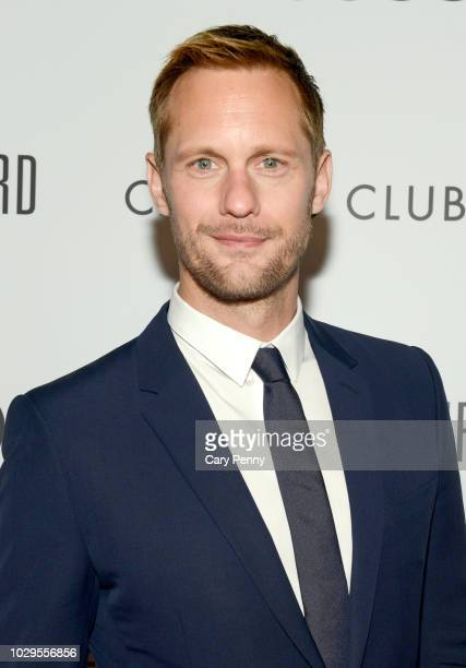 "Alexander Skarsgard attends the Cactus Club Cafe and Audi Celebrate ""The Hummingbird Project"" Starring Salma Hayek, Jesse Eisenberg and Alexander..."