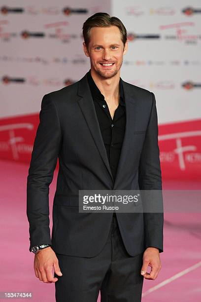 Alexander Skarsgard attends the closing ceremony photocall during the RomaFictionFest 2012 at Auditorium Parco Della Musica on October 5 2012 in Rome...