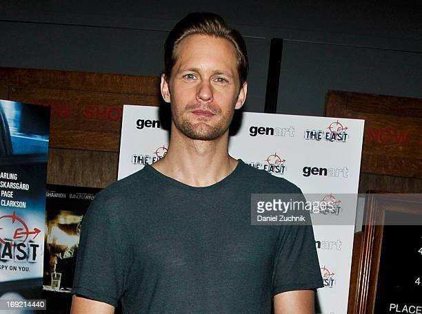 Alexander Skarsgard attends 'The East' Brooklyn Screening at The Nitehawk Cinema on May 21 2013 in the Brooklyn borough of New York City