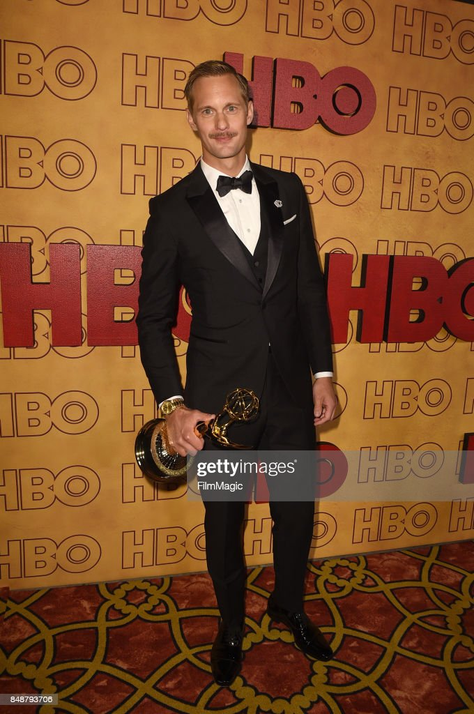 Alexander Skarsgard attends the HBO's Official 2017 Emmy After Party at The Plaza at the Pacific Design Center on September 17, 2017 in Los Angeles, California.