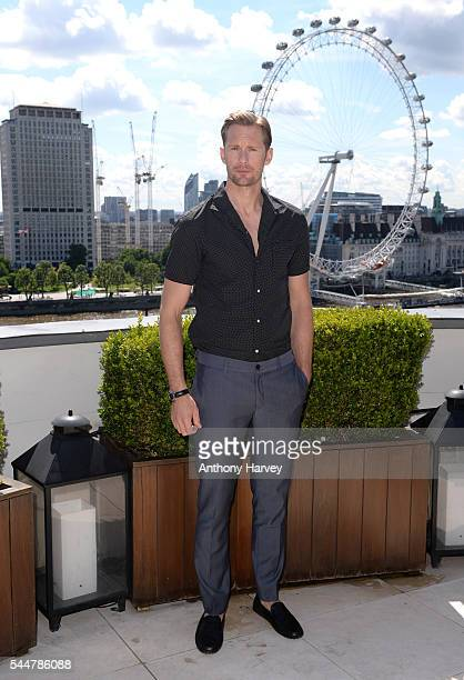 Alexander Skarsgard attends the photocall for 'The Legend Of Tarzan' at Corinthia London on July 4 2016 in London England