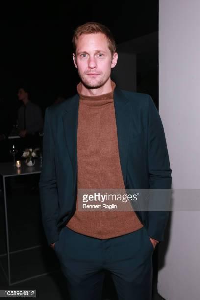 Alexander Skarsgard attends WSJ Magazine 2018 Innovator Awards Sponsored By Harry Winston FlexJet Barneys New York Arrivals at MOMA on November 7...