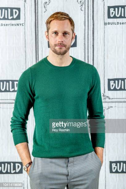 Alexander Skarsgard discusses Hold The Dark with the Build Series at Build Studio on September 26 2018 in New York City