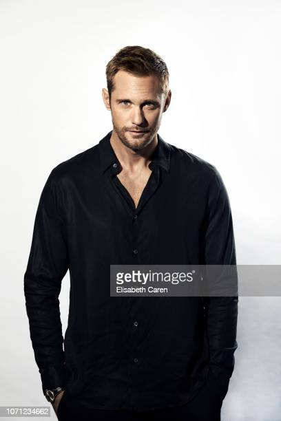 Alexander Skarsgard is photographed for The Wrap on September 9 2018 at the Toronto International Film Festival in Toronto Ontario