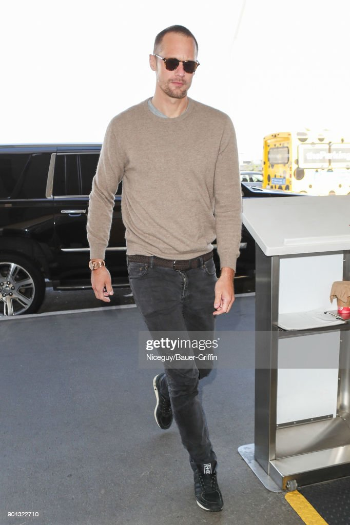 Celebrity Sightings In Los Angeles - January 12, 2018 : News Photo