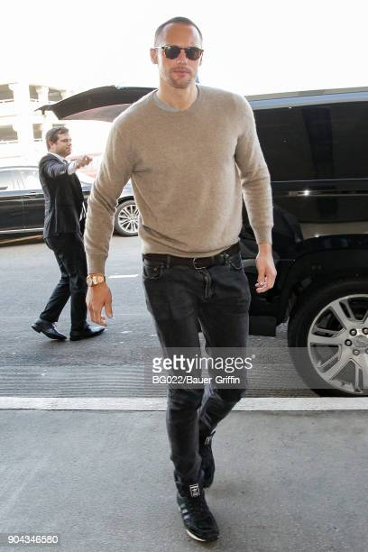 Alexander Skarsgard is seen on January 12 2018 in Los Angeles California