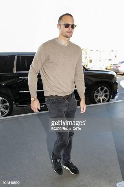 Alexander Skarsgard is seen on January 12 2018 in Los Angeles California