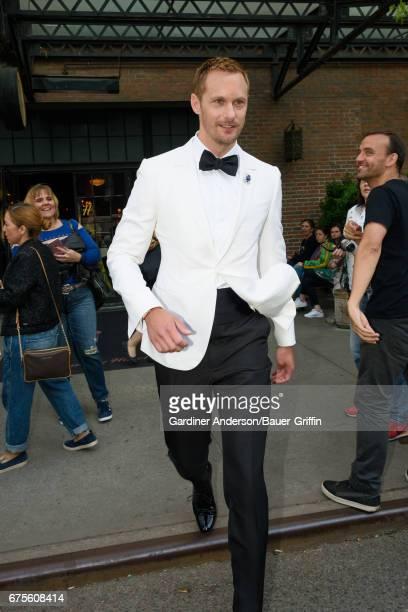 Alexander Skarsgard is seen on May 01 2017 in New York City