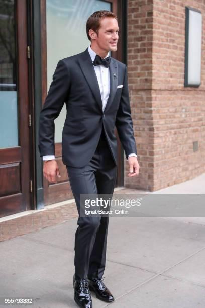 Alexander Skarsgard is seen on May 07 2018 in New York City