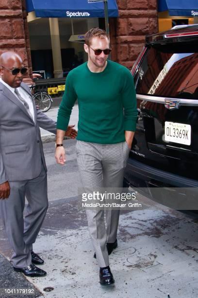 Alexander Skarsgard is seen on September 26 2018 in New York City