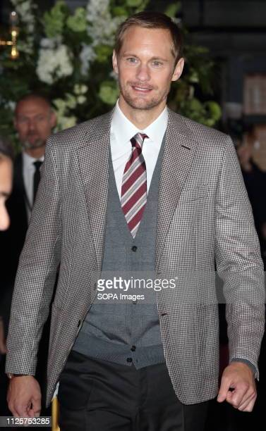 Alexander Skarsgård at The Aftermath World Premiere at the Picturehouse Central Shaftesbury Avenue and Great Windmill Street