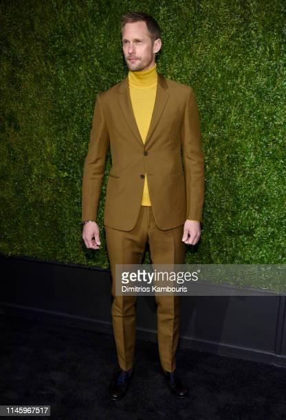 Alexander Skarsgård attends as CHANEL hosts 14th Annual Tribeca Film Festival Artists Dinner at Balthazar on April 29 2019 in New York City