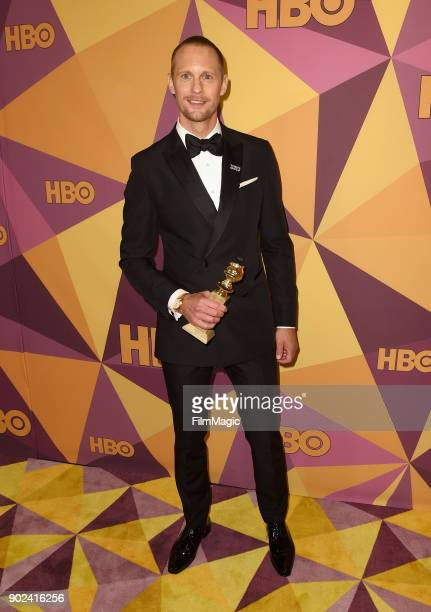 Alexander Skarsgård attends HBO's Official 2018 Golden Globe Awards After Party on January 7 2018 in Los Angeles California