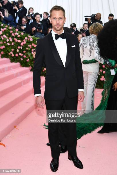 Alexander Skarsgård attends The 2019 Met Gala Celebrating Camp Notes on Fashion at Metropolitan Museum of Art on May 06 2019 in New York City